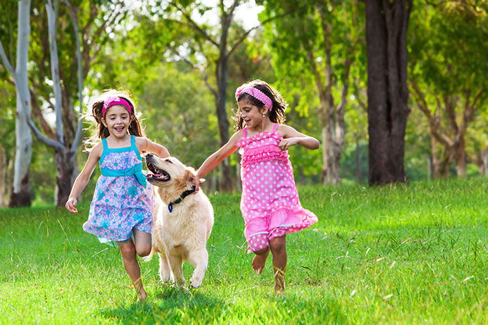 Lợi ích khi cho trẻ nhỏ nuôi thú cưng